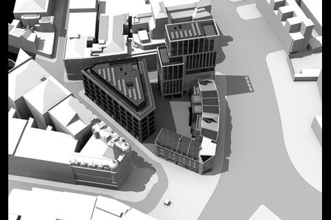 The Shoreditch Island proposals by Douglas and King Architects